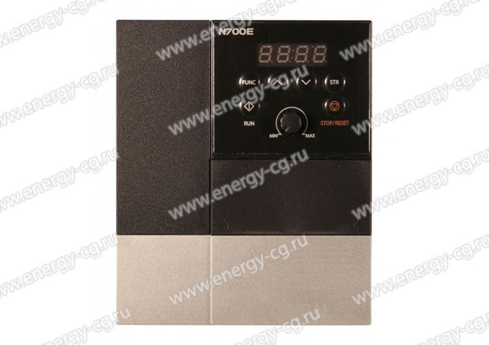 Купить преобразователь частоты HYUNDAI N700E 004HF 0.4 кВт  380 В