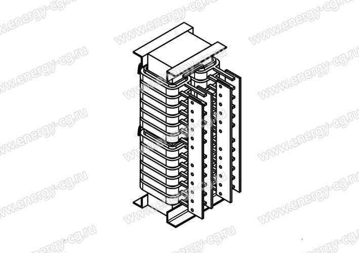 Печной Трансформатор ОСЭ-40/310 (220, 380, 660)