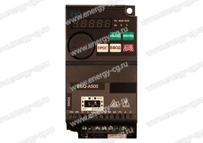 Купить преобразователь частоты ESQ-A500-043-1.5K в Санкт-Петербурге