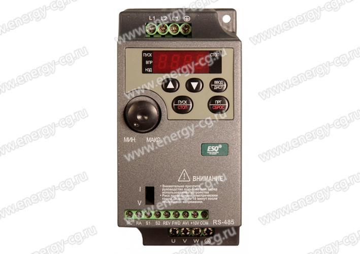 Купить преобразователь частоты ESQ-210-4T-0.7K 0.75 кВт 380 В