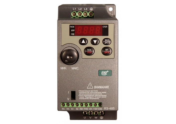 Купить Преобразователь Частоты ESQ-210-2S-0.4K 0.4 кВт 220 В