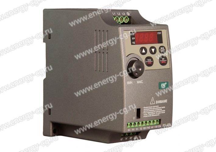 Купить преобразователь частоты ESQ-210-2S-1.5K 1.5 кВт 220 В