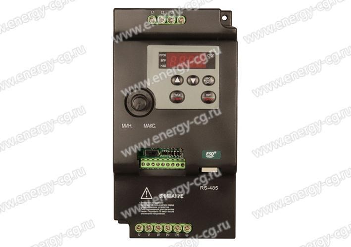 Купить преобразователь частоты ESQ-210-2S-5.5K 5.5 кВт 220 В