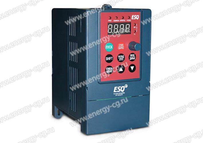 Купить преобразователь частоты ESQ-A200-2S0007 0.75 кВт 220 В