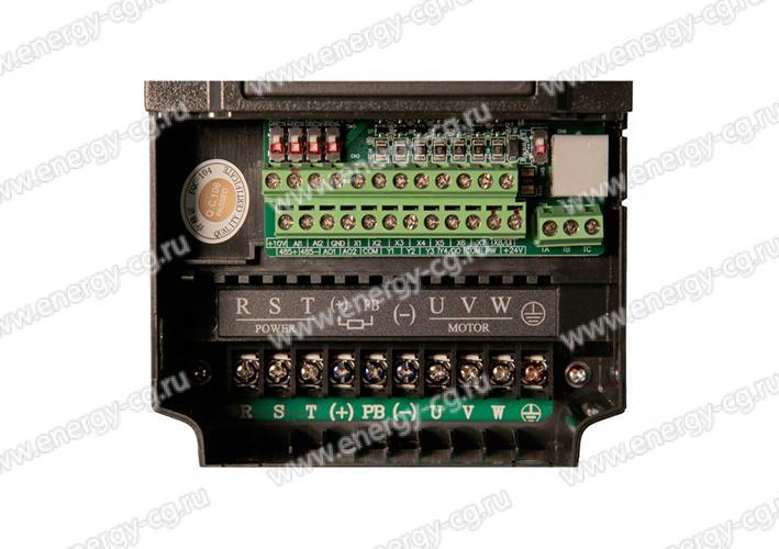 Купить Преобразователь Частоты ESQ-600-2S0055 5.5 кВт 220 В