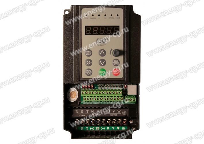 Купить преобразователь частоты ESQ-600-4T0037G/0055P 3.7 кВт 380 В