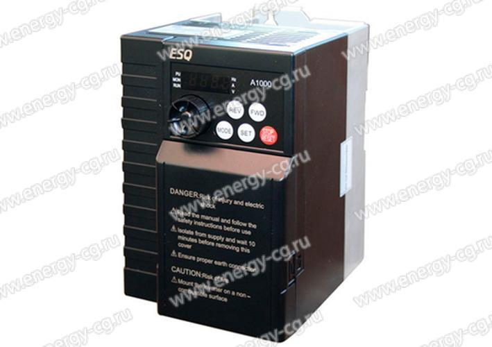 Купить Преобразователь Частоты ESQ-A1000-021-0.75K 0.75 кВт 220 В