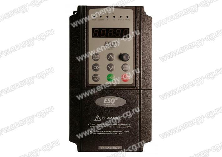 Купить Преобразователь Частоты ESQ-600-2S0007 0.7 кВт  220 В