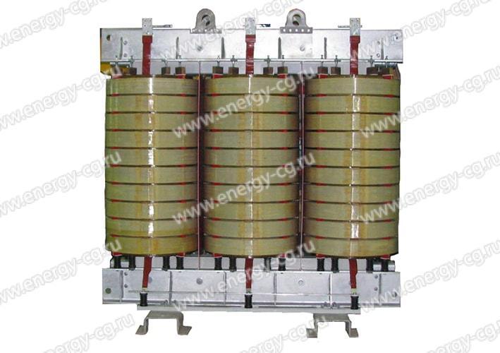 Купить ТС 12500 кВА 6/0.4 кВ 10/0.4 кВ Д/Ун-11 УХЛ3 Сухой Силовой Трансформатор
